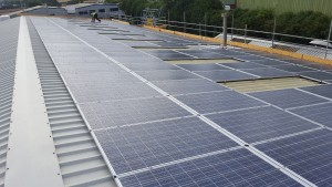 100kW commercial solar pv
