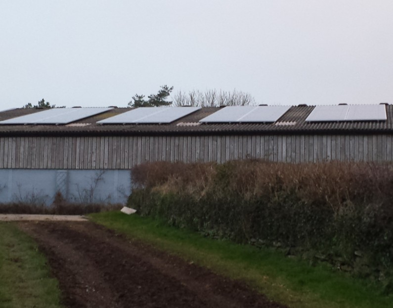 16kW PV system at Ashbrittle Stud, Wellington