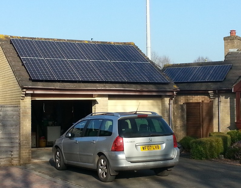 3.84kW PV System with Optimisation