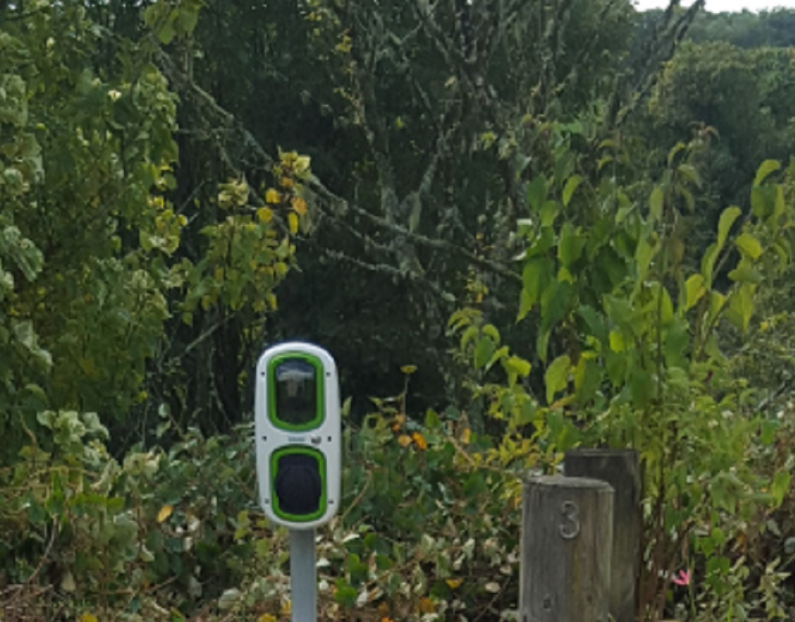 Domestic Charge Point, Didworthy Park, South Brent