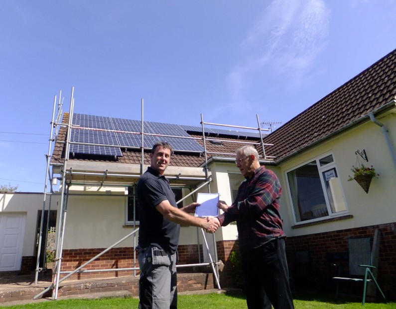 3.84kW PV domestic system