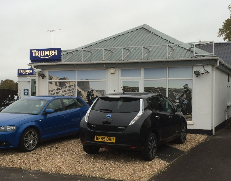 EV Charge Point for Total Triumph, Taunton