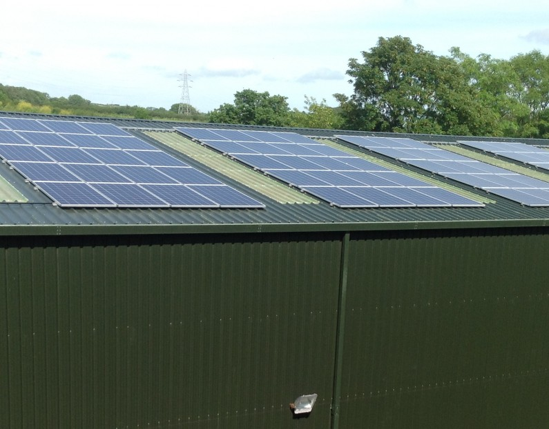 90kW of Solar PV for LTC Scaffolding