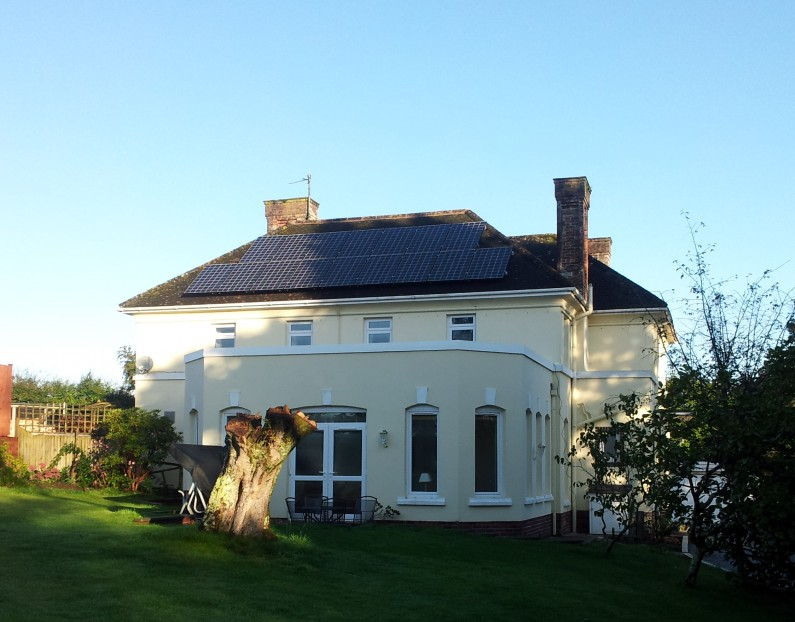 3.84kW residential PV, S. Molton