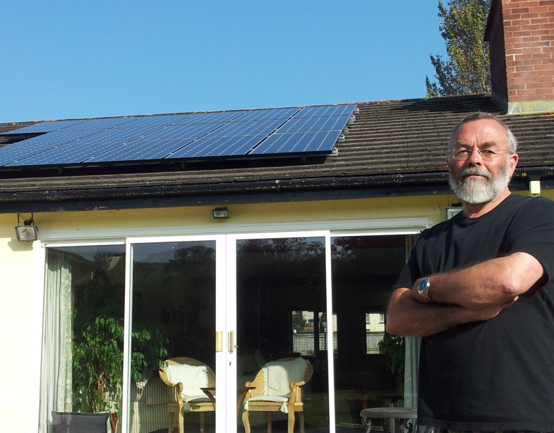 3.84kW domestic PV at Old Oaks, Shillingford