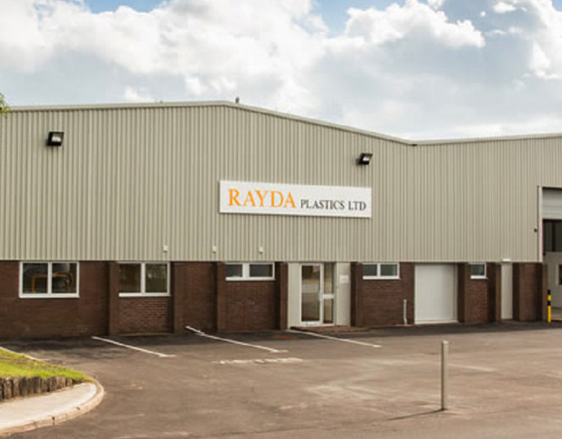 Electrical fitout for Rayda Plastics, Cullompton