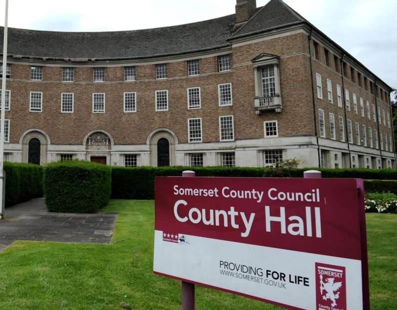 County Hall, Taunton Somerset